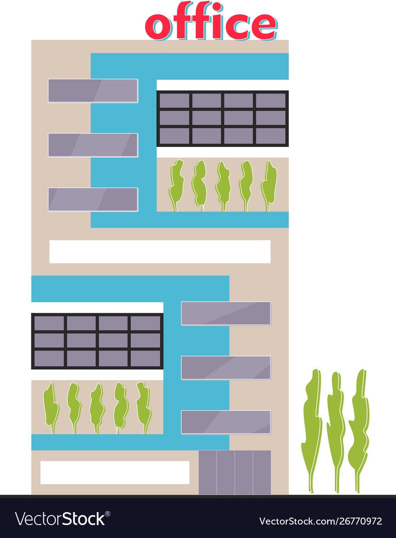 Business building facade office building exterior