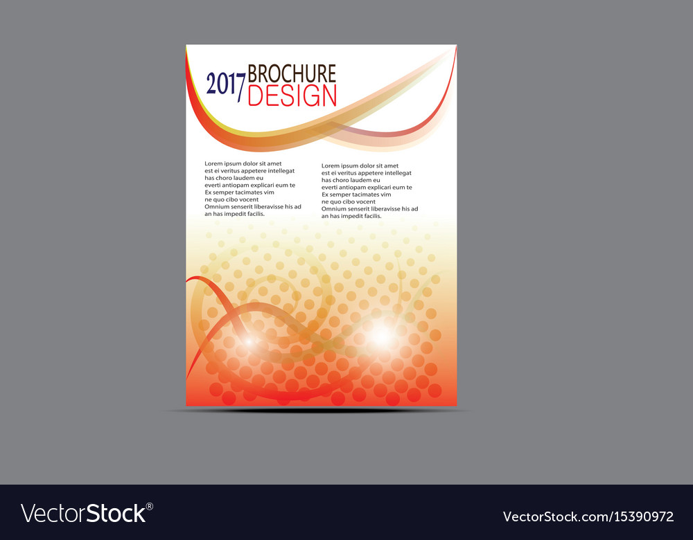 Flyer templates design brochure