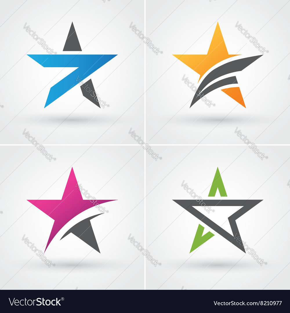 Four star icons