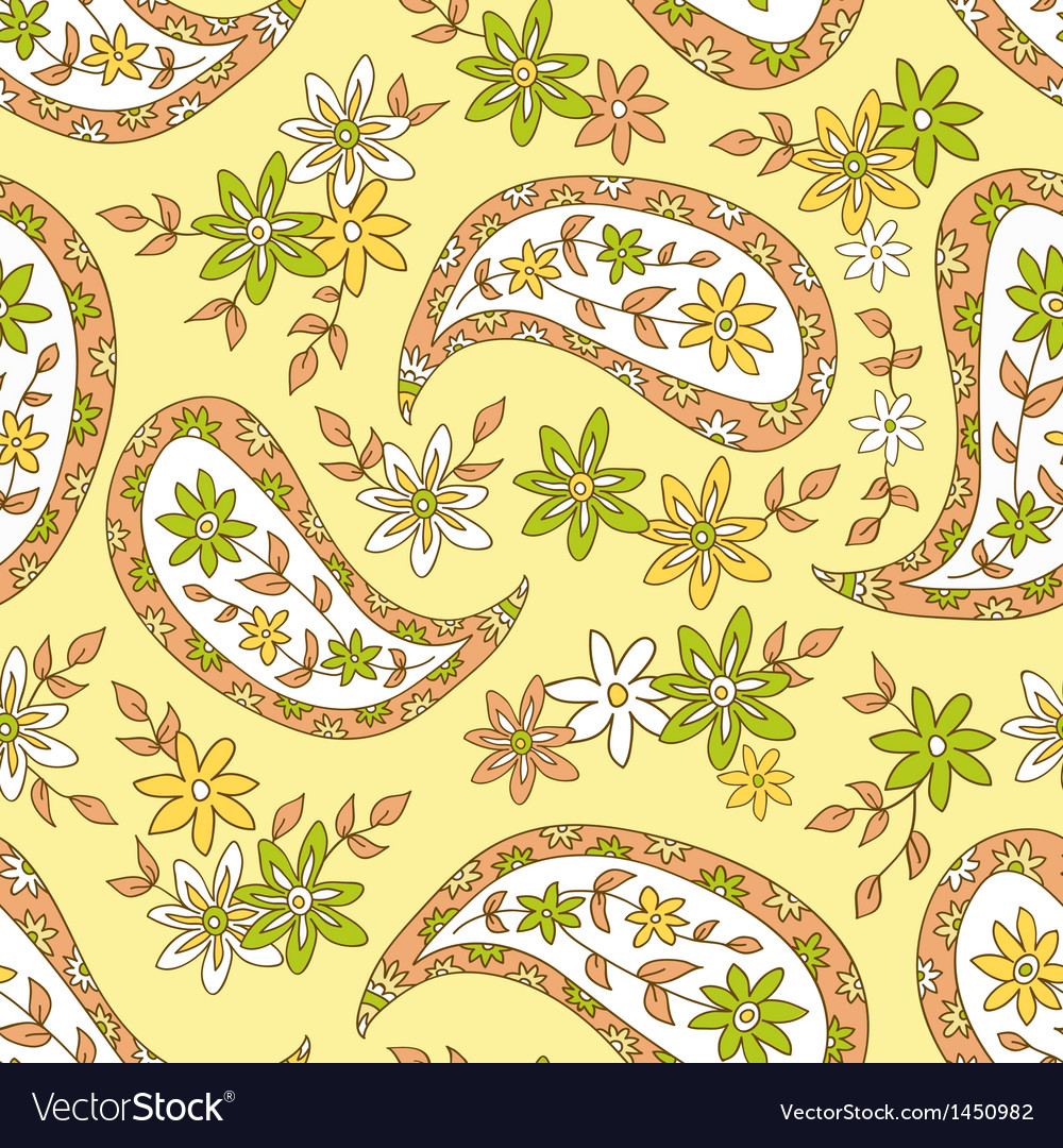 Summer ethnic seamless pattern