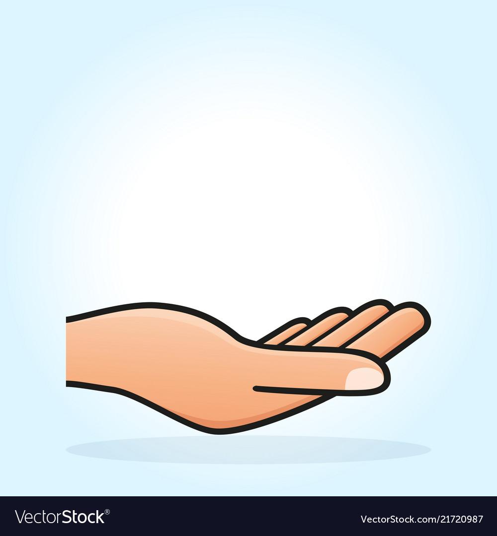 Open hand concept design