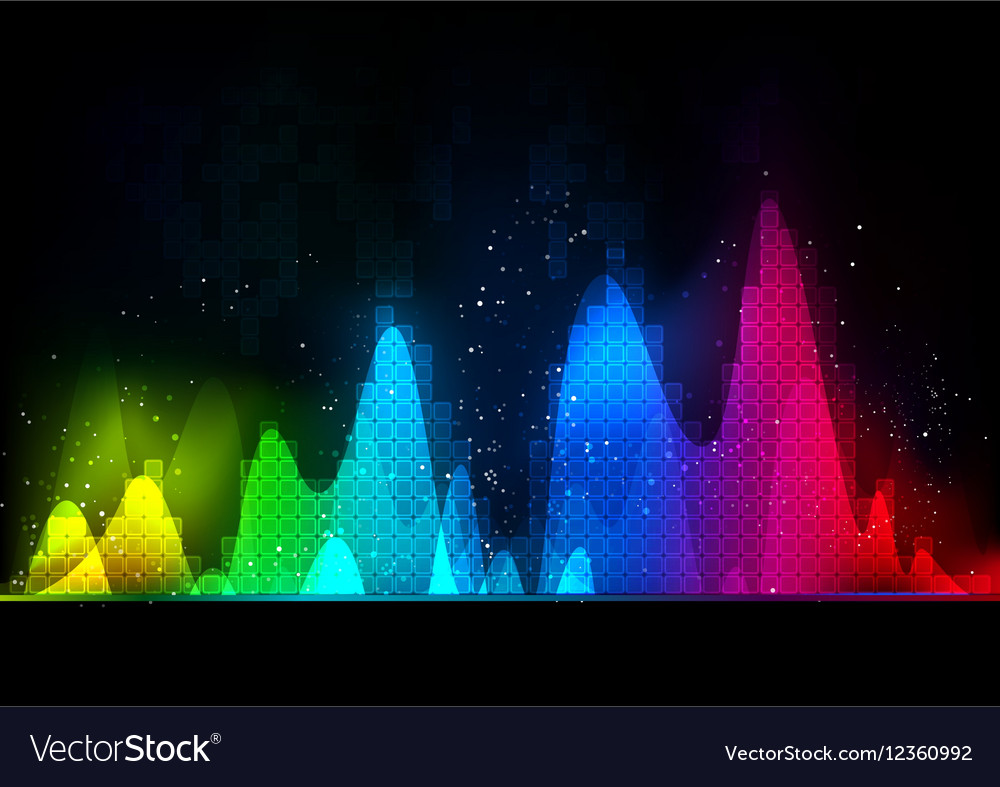 Background abstract technology communication wave