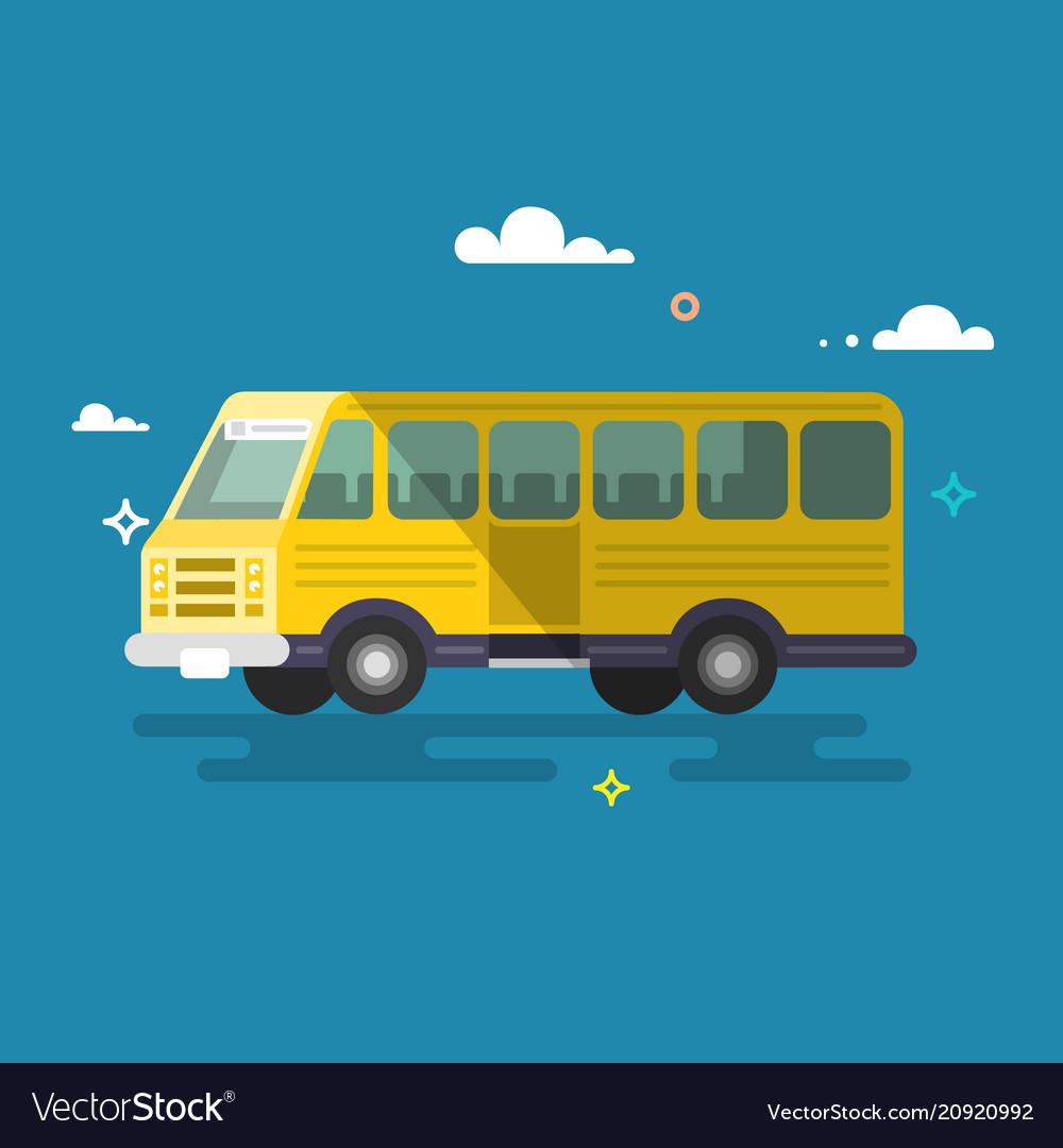 Bus flat design