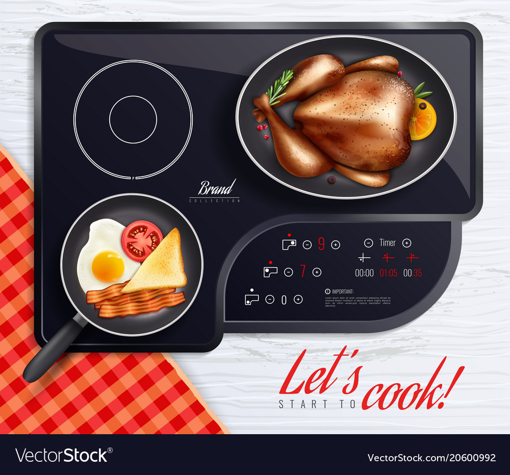 Hob surfaces cooking poster