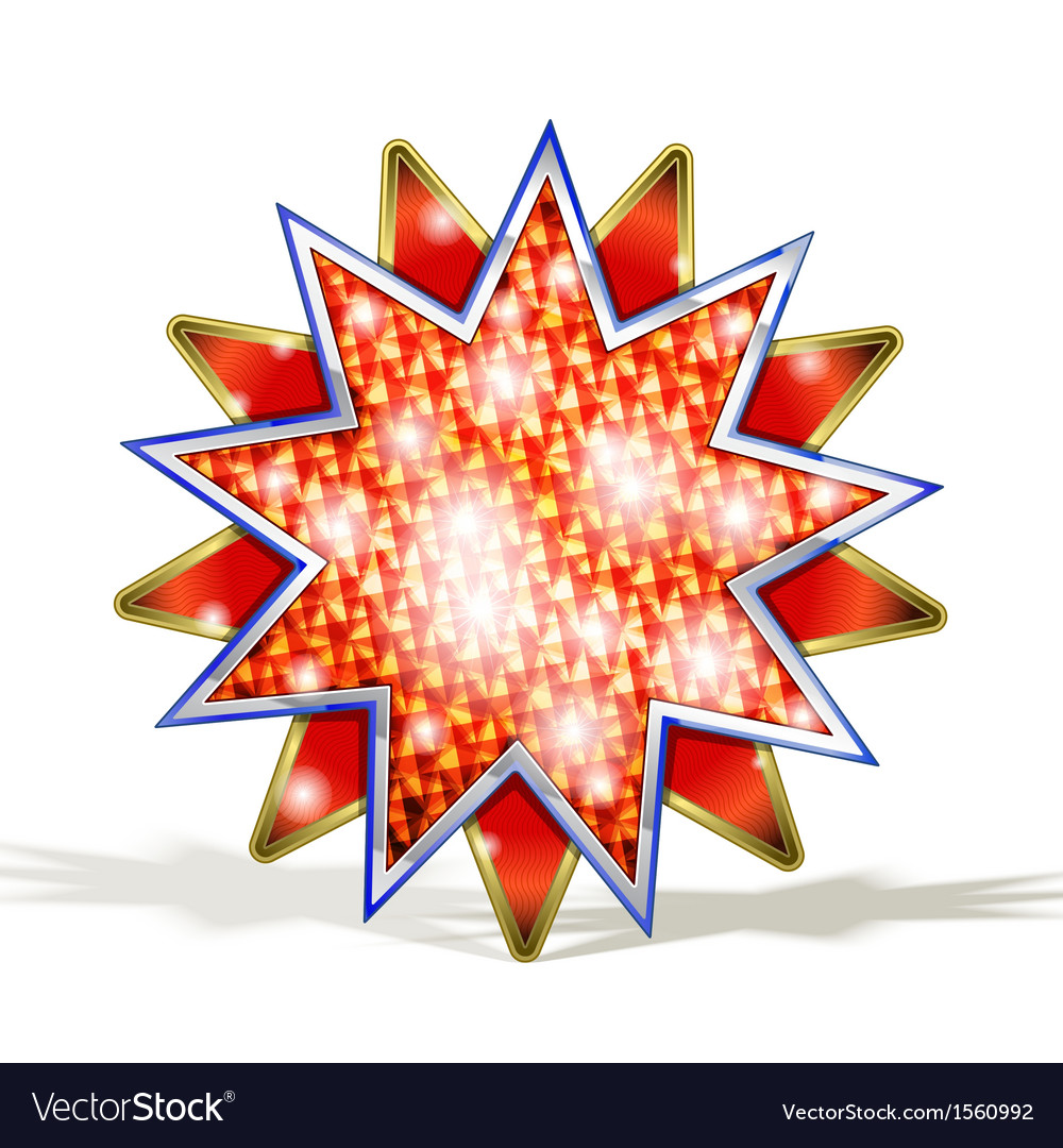 Magic Red Star