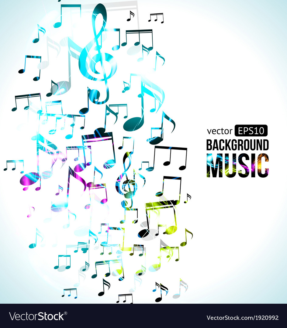 Music Background Note Design