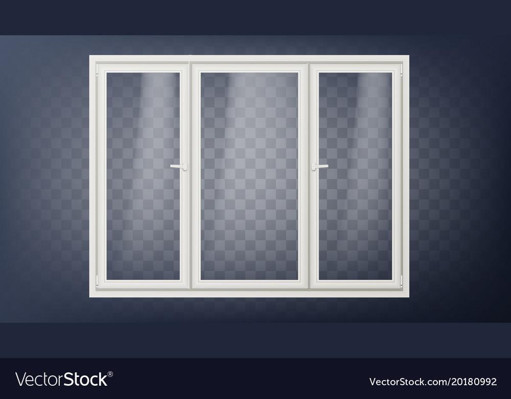Plastic Door Closed Glass Store Door Royalty Free Vector