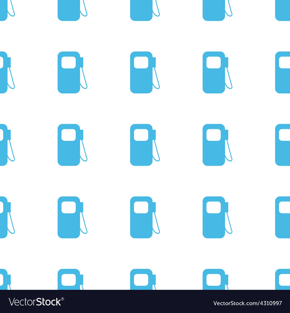 Unique Gas station seamless pattern