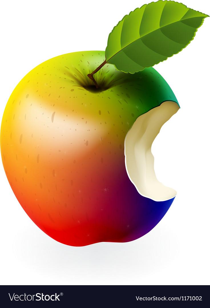 Why is Apple bitten in the Apple logo