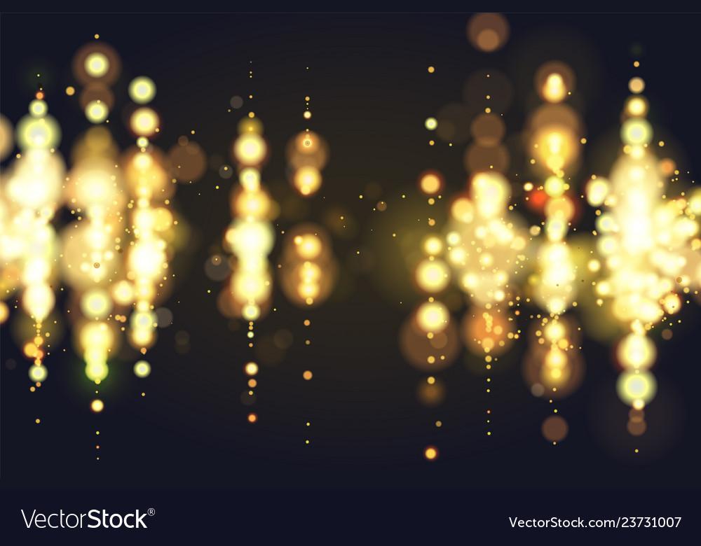 Sparkle Glitter Lights Luxury Vector Image