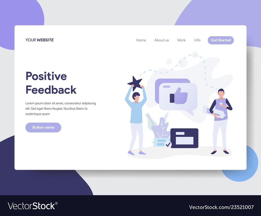 Positive feedback concept