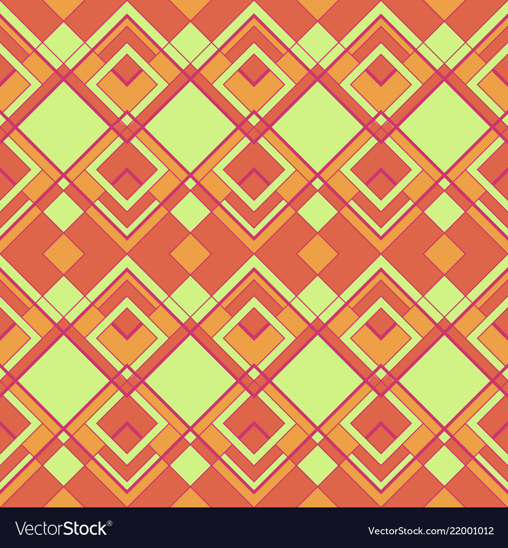 Abstract geometric color seamless pattern