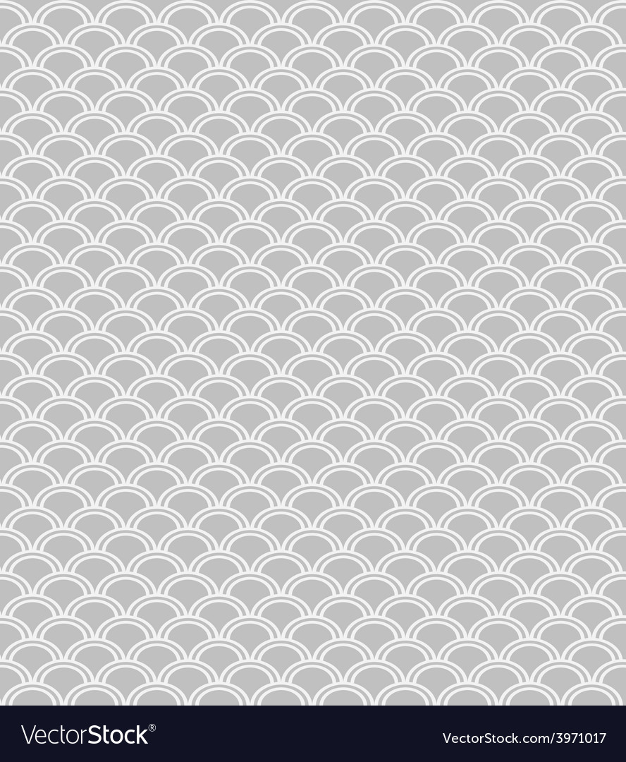 Wave endless seamless pattern vector image