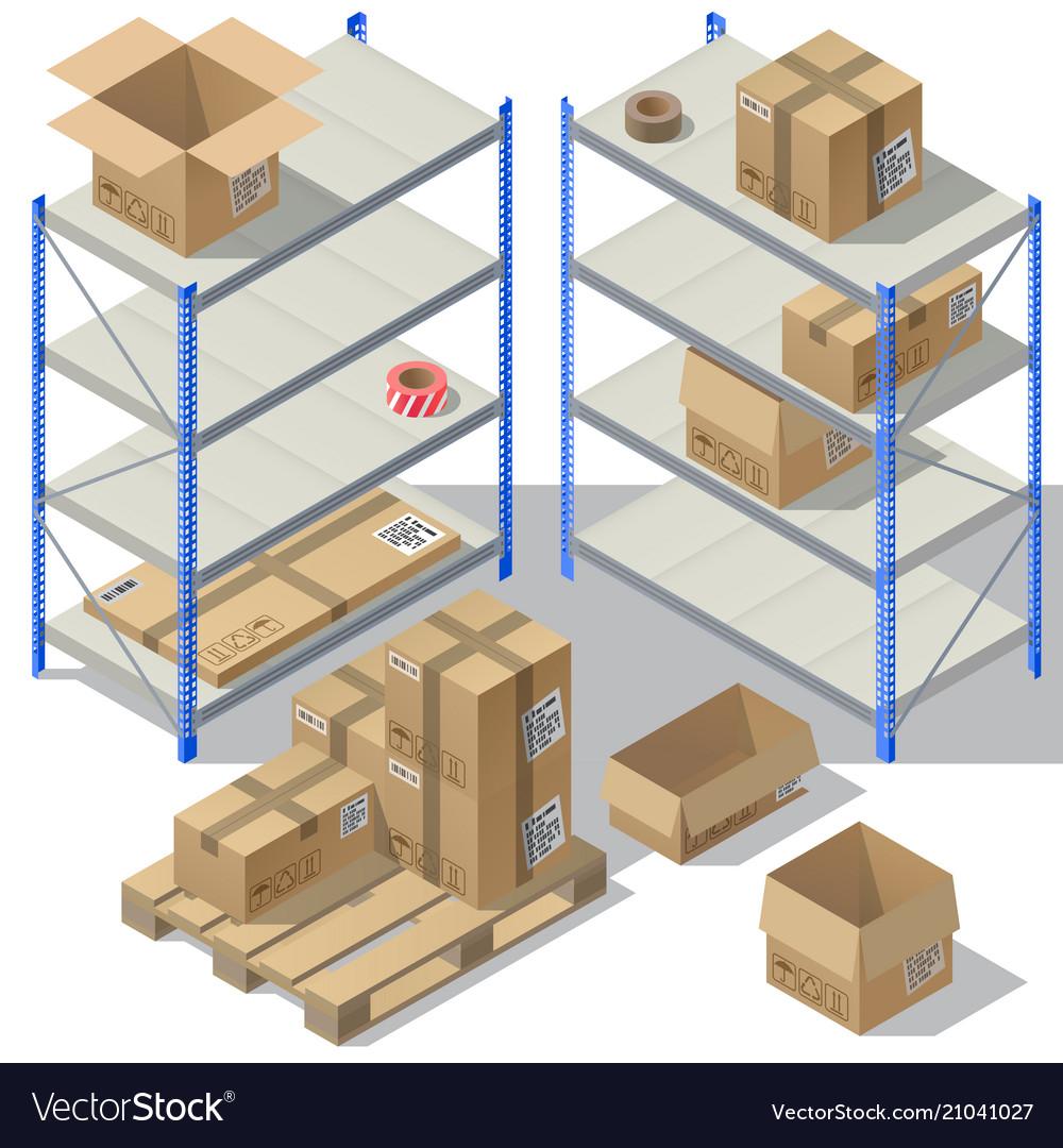 3d isometric storage of post service