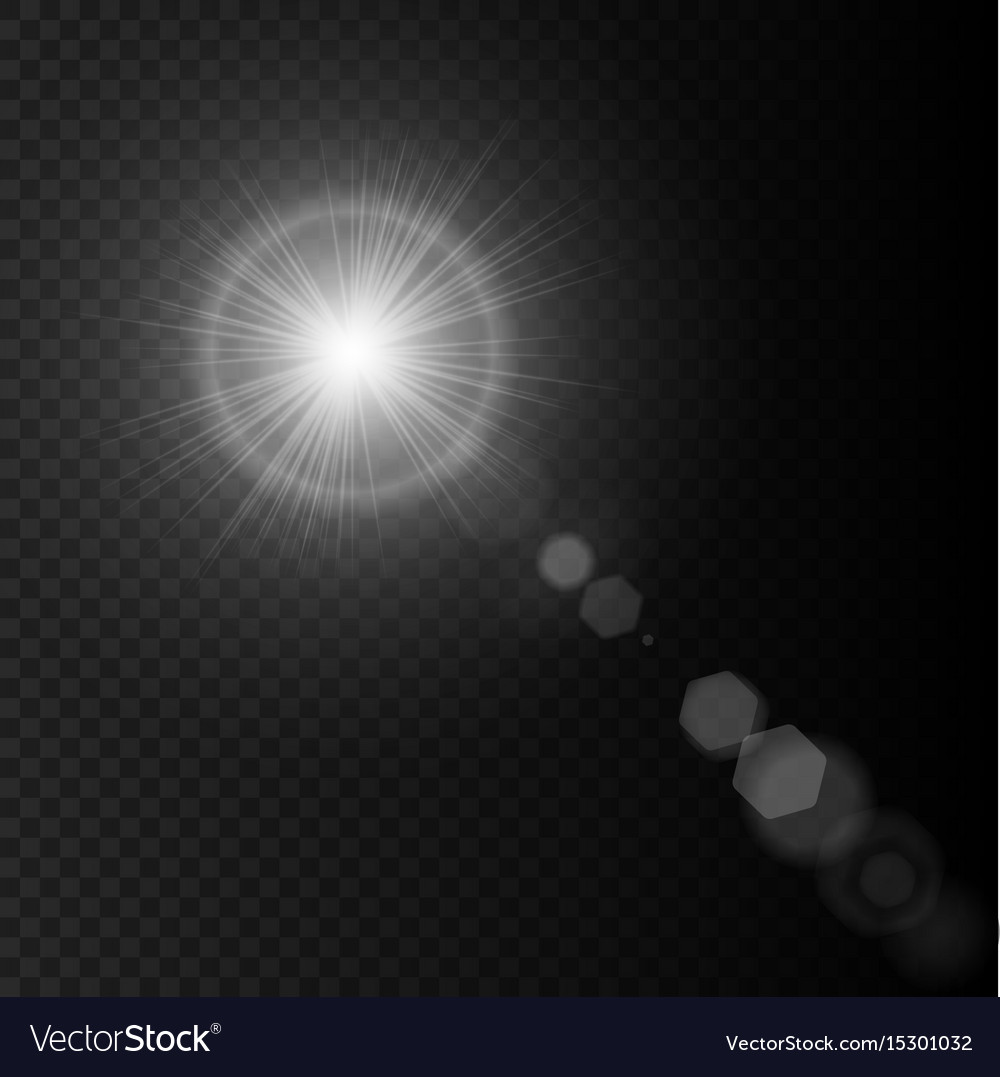 how to draw lens flare