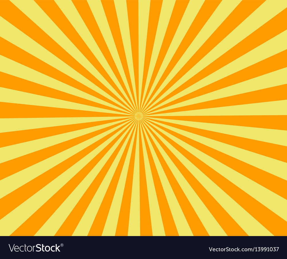 Sun raysold paper with stains vector image