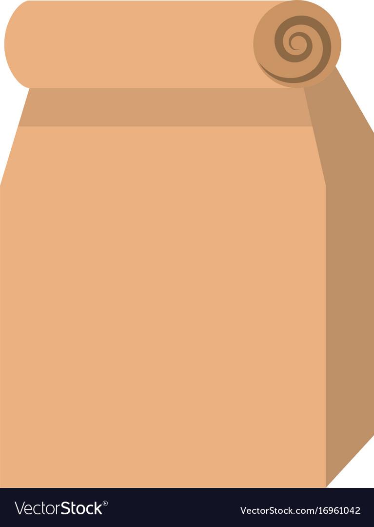 Lunch bag in paper bag