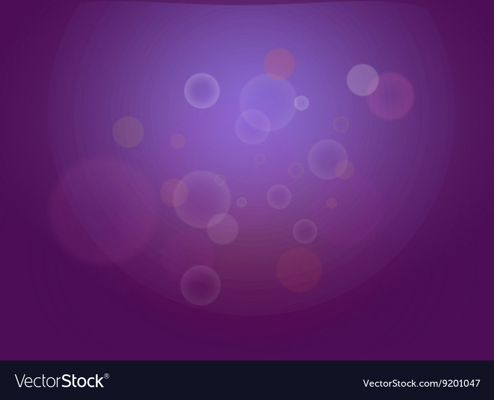 Abstract dark violet bokeh lights with sparkles