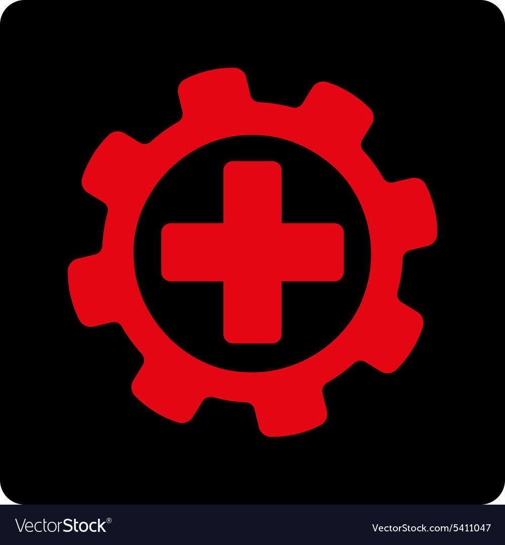 Medical Settings Icon Royalty Free Vector Image