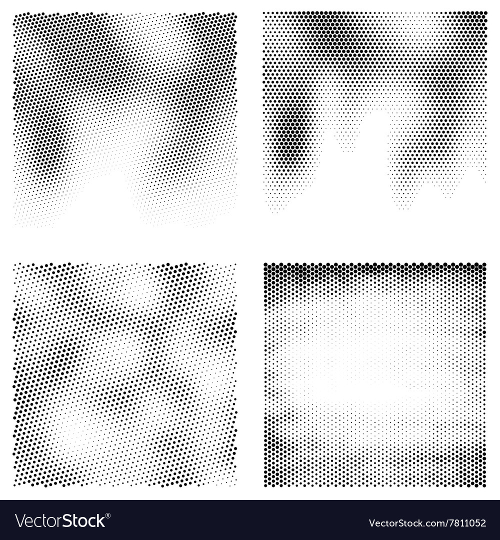Black and white halftone backgrounds