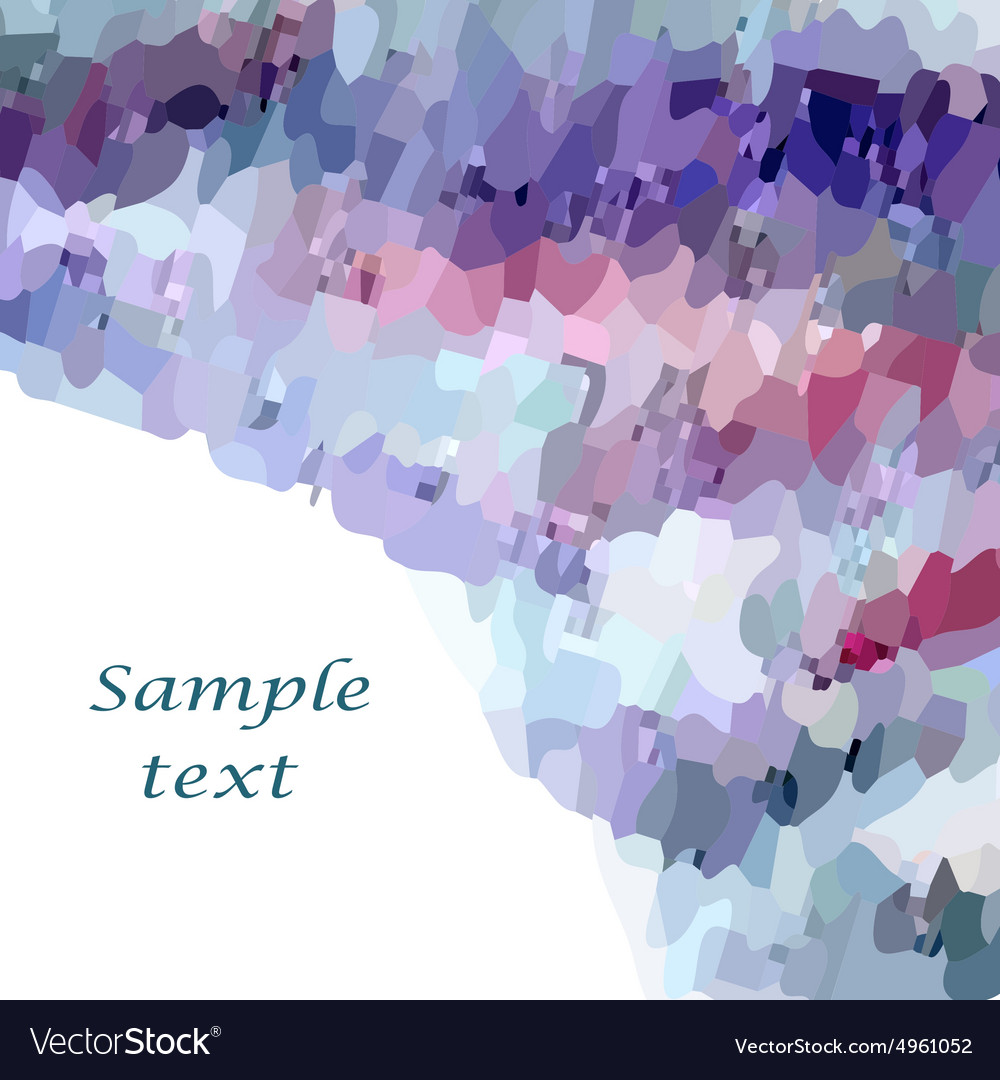 Mosaic background4 vector image