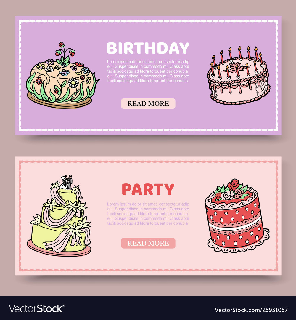 Birthday party or wedding anniversary set