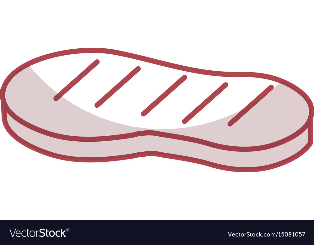 Cut beef meat icon