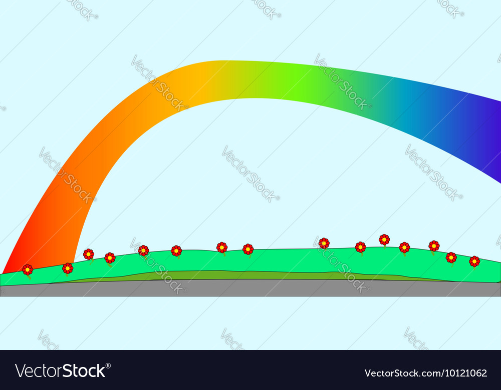Park Background vector image