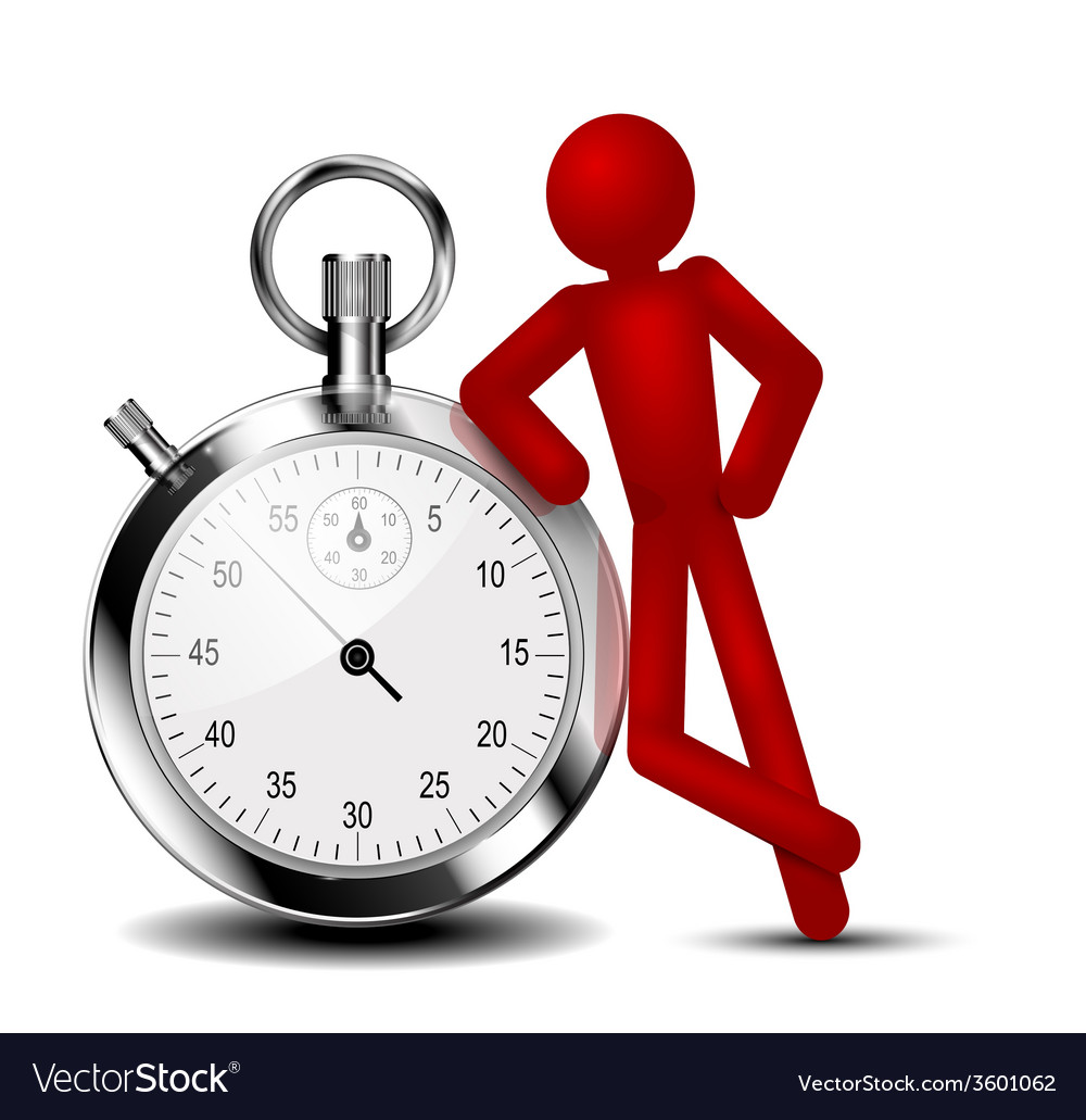 Time Management Background Royalty Free Vector Image