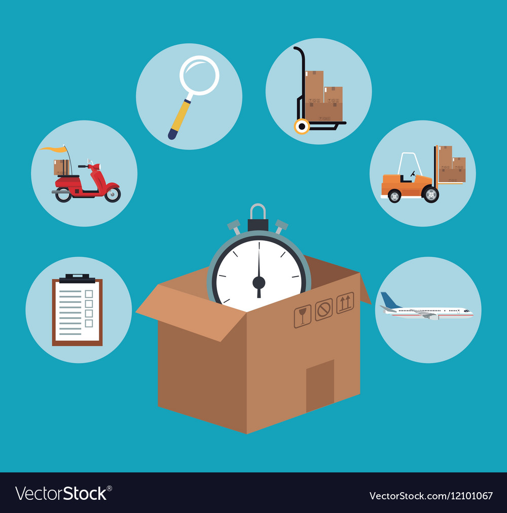 Fast time delivery transport logistic
