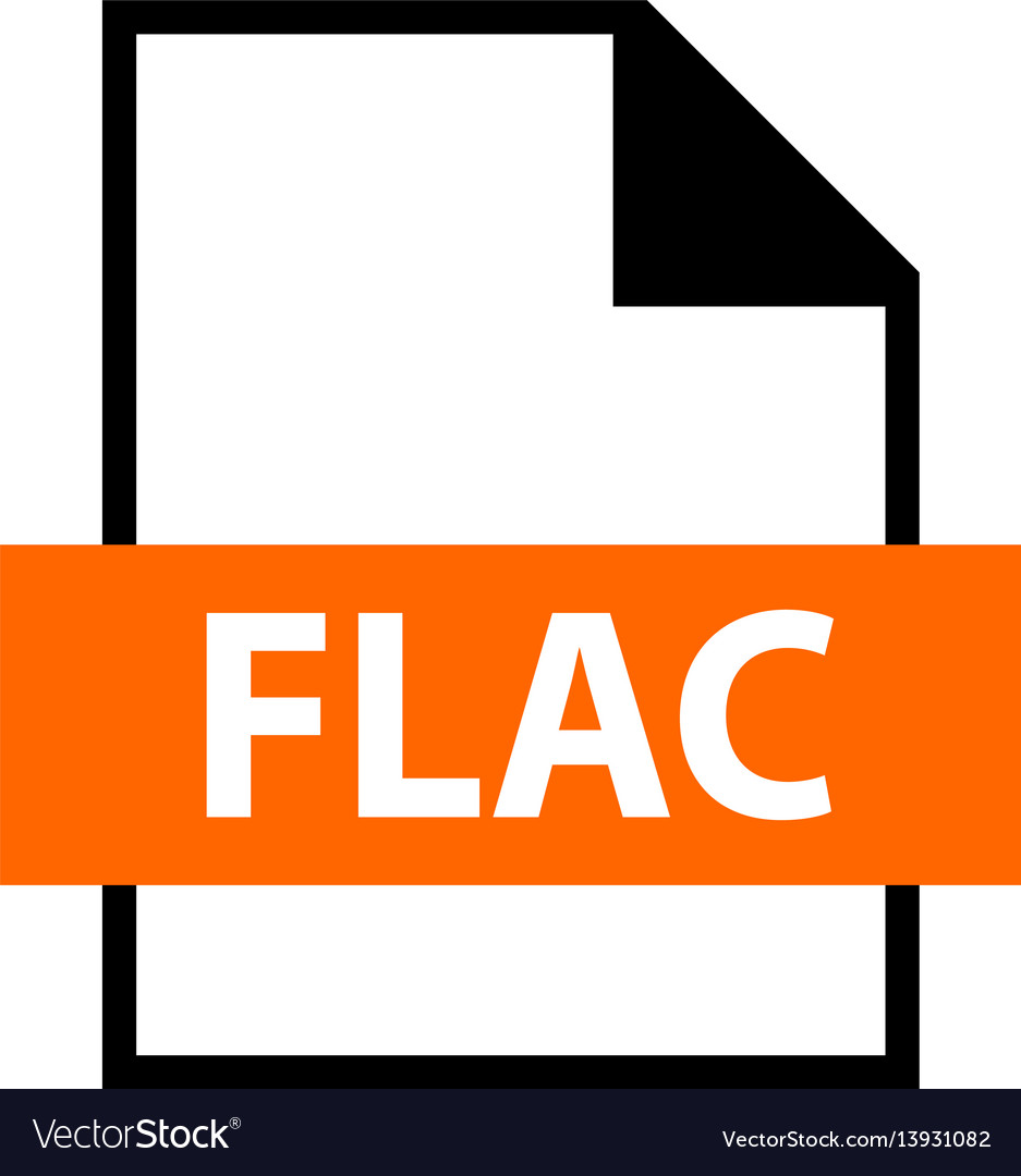 File name extension flac type