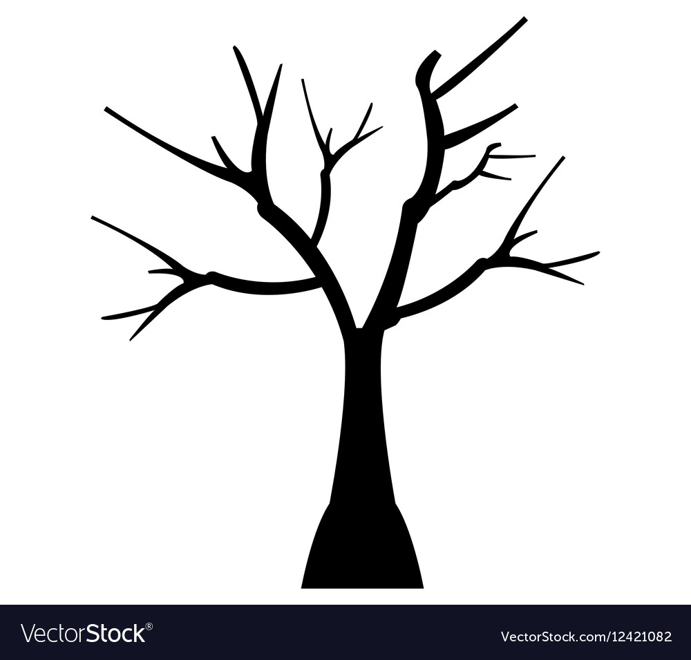 Icon dry tree