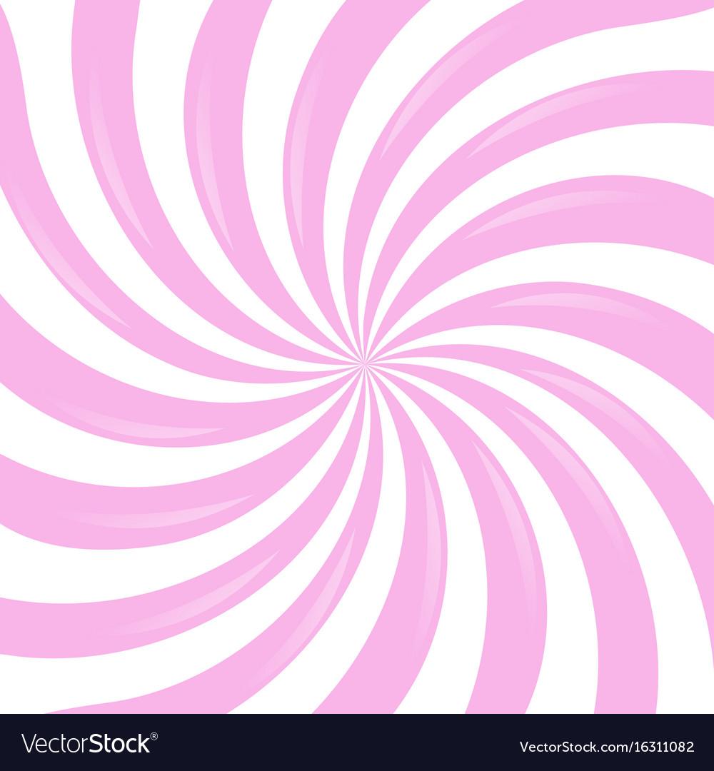 Pink sunburst