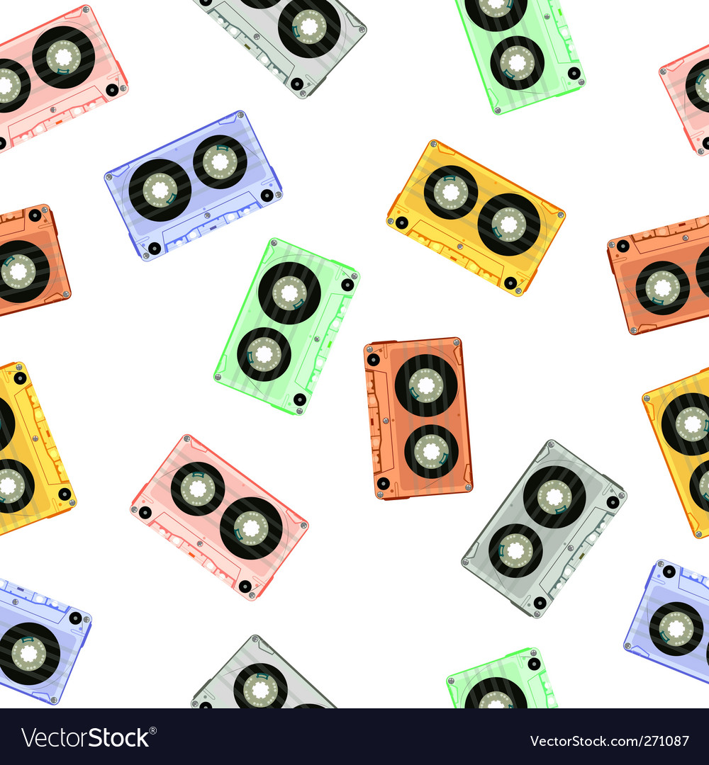 Audio tapes background