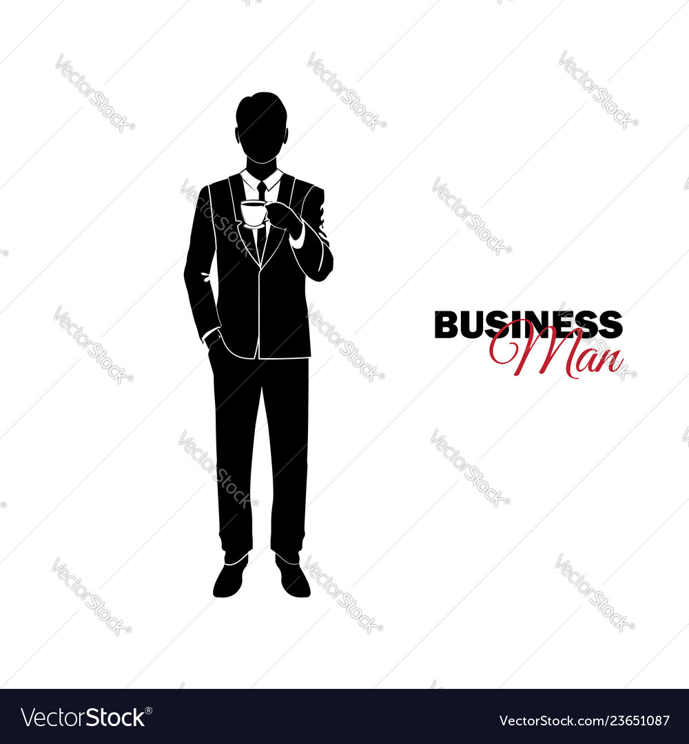 Businessman manager a man in a business suit