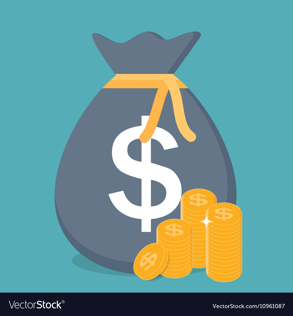 Gold Coins Icon Sign Business Finance Money