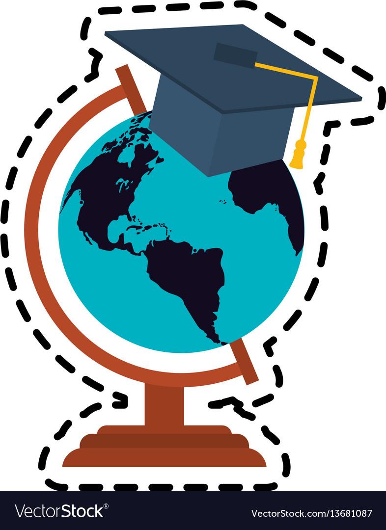 Graduation cap icon image