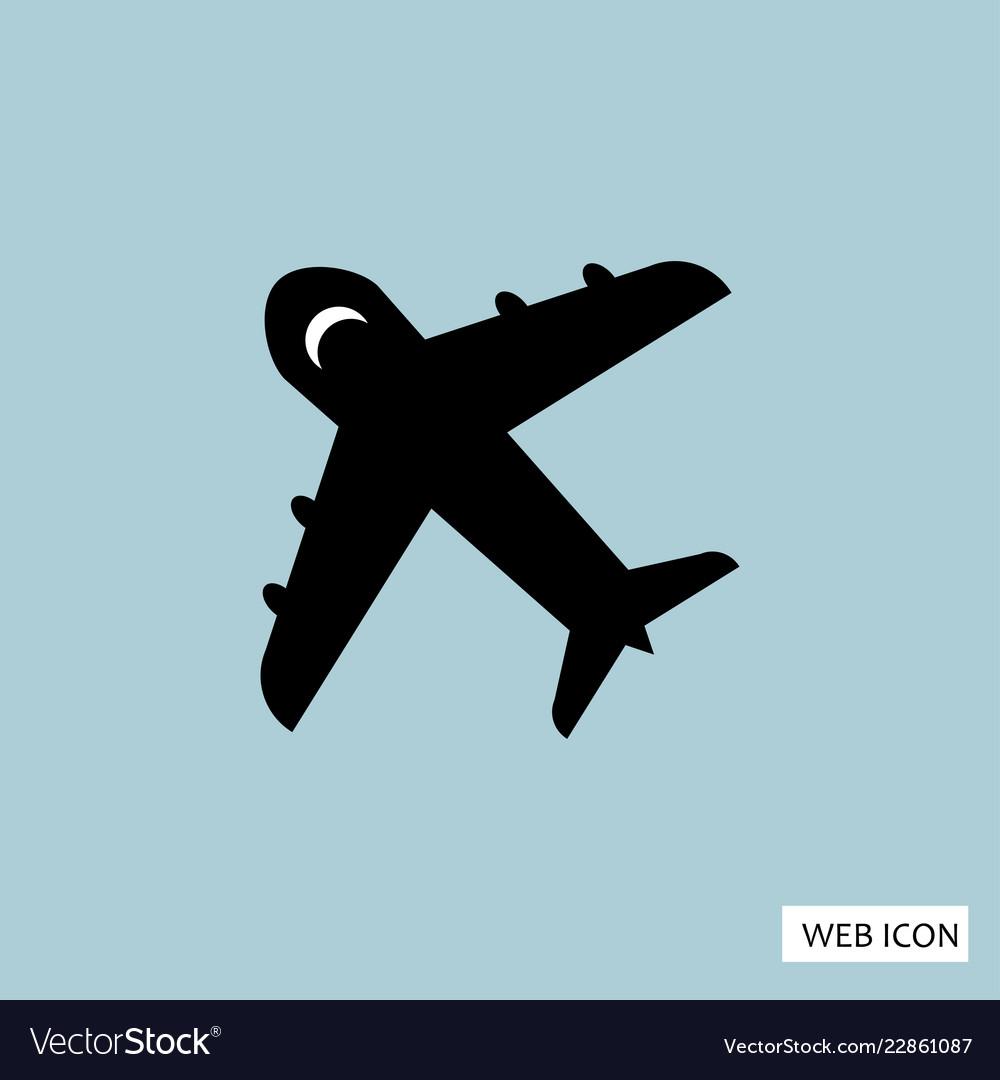 Plane icon plane icon eps10 plane icon plane