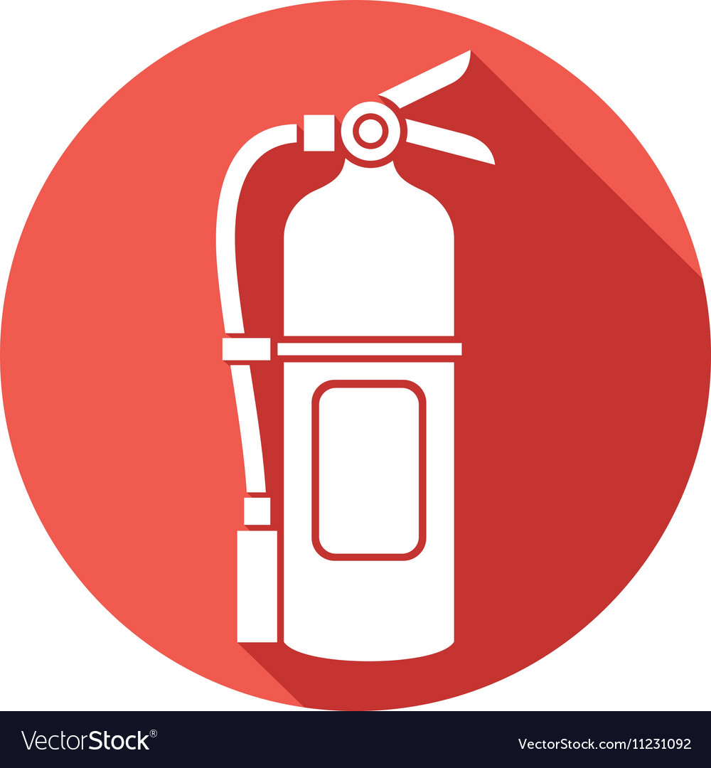 fire extinguisher icon royalty free vector image