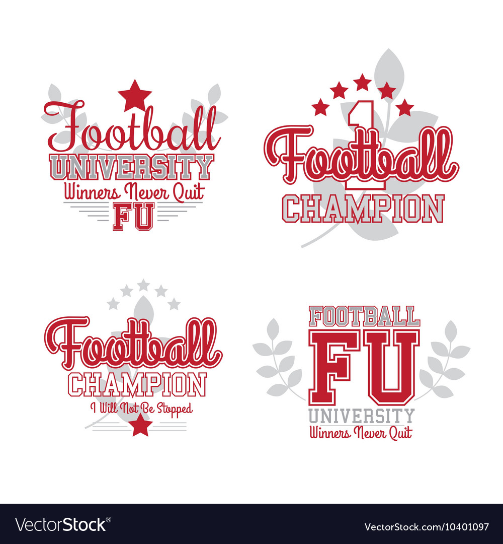 American Football Badges