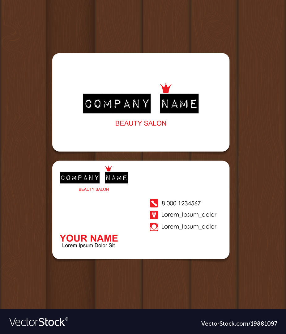 salon business card templates choice image business