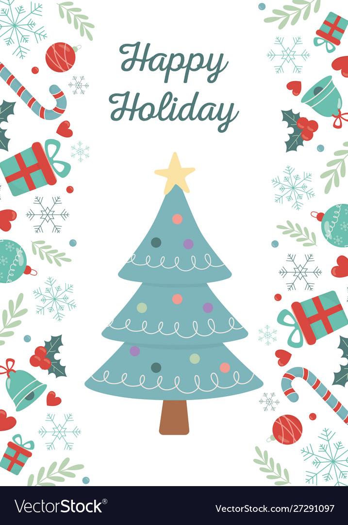 Tree lights gifts celebration happy christmas