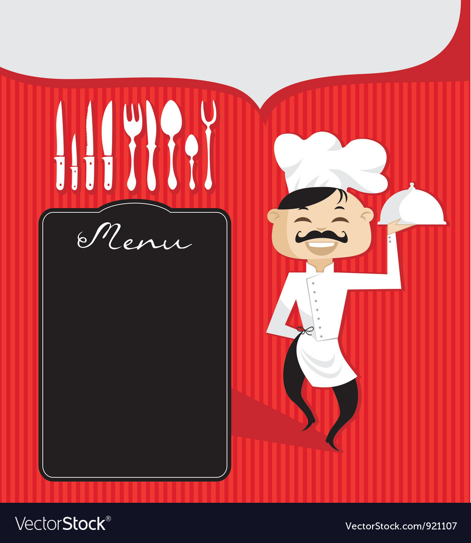 Culinary Background vector image
