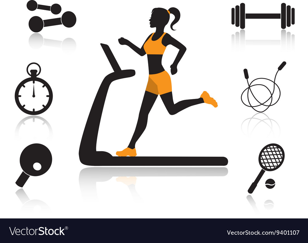 Sports in human life vector image