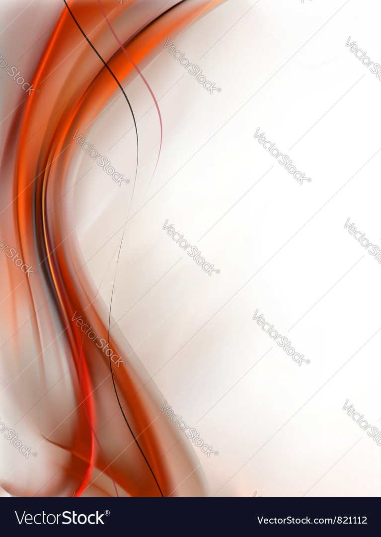 Elegant Abstract Red background vector image