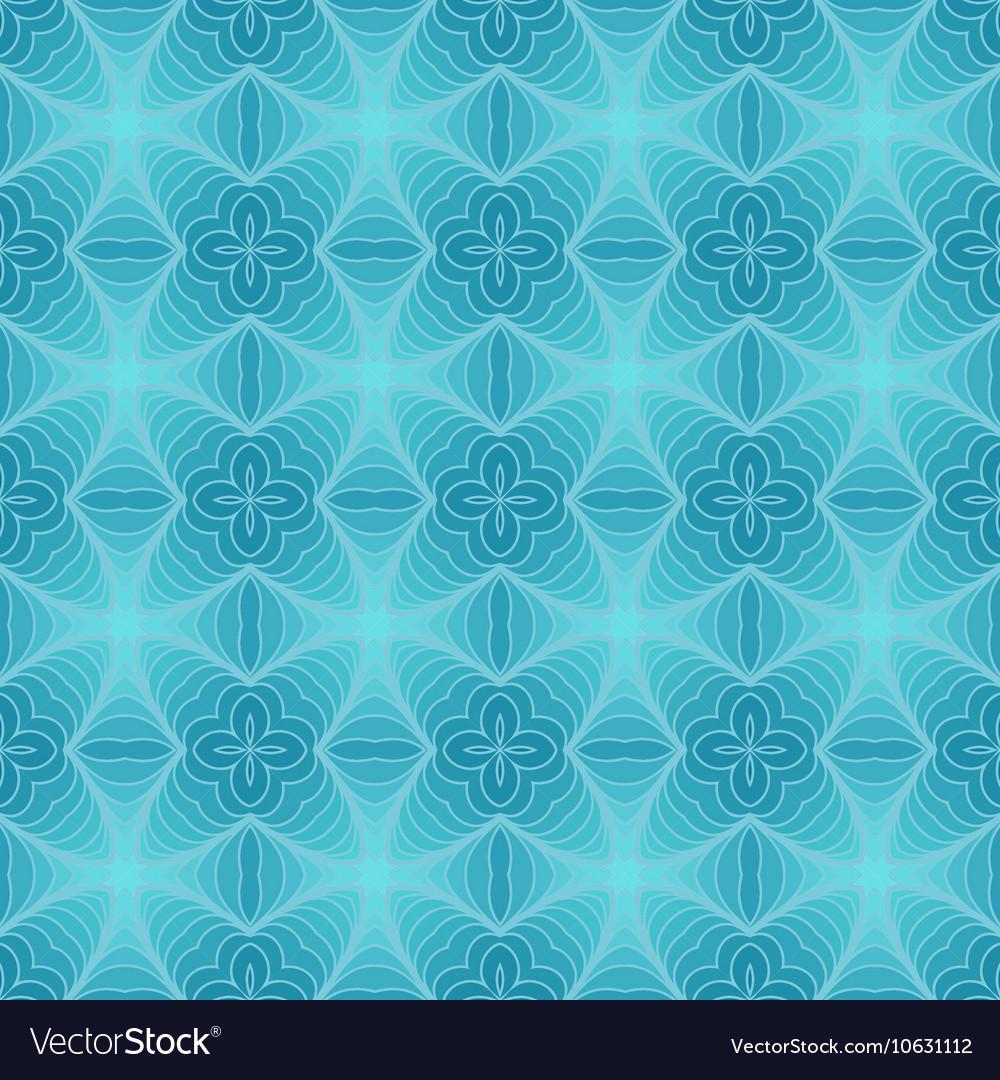 Retro Blue Seamless Wallpaper