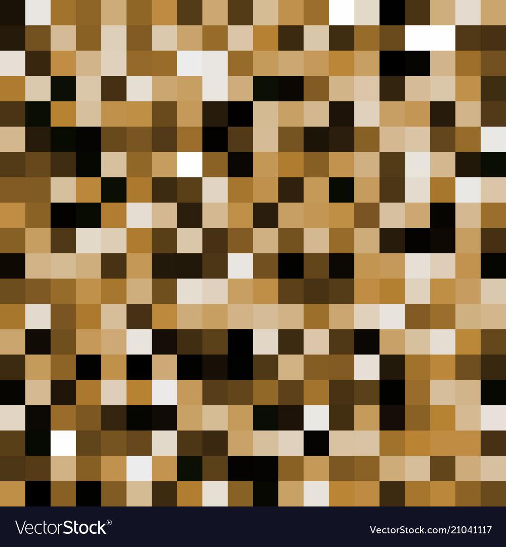 Abstract orange pixel background