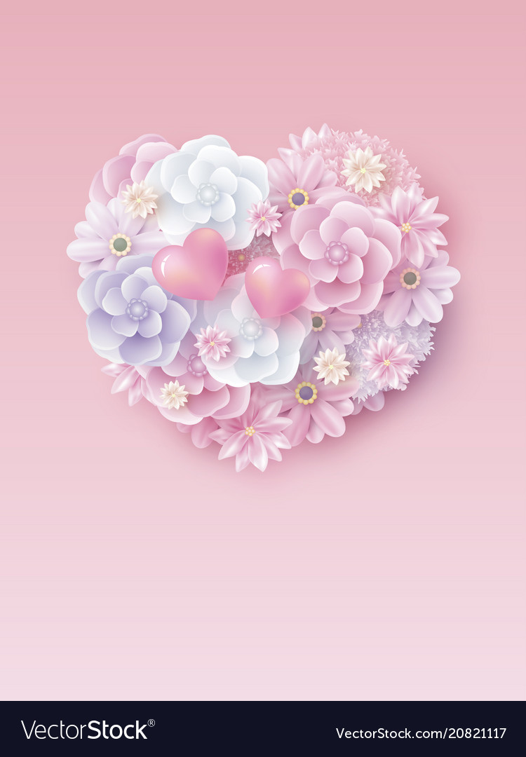 Mothers day and valentines wedding design