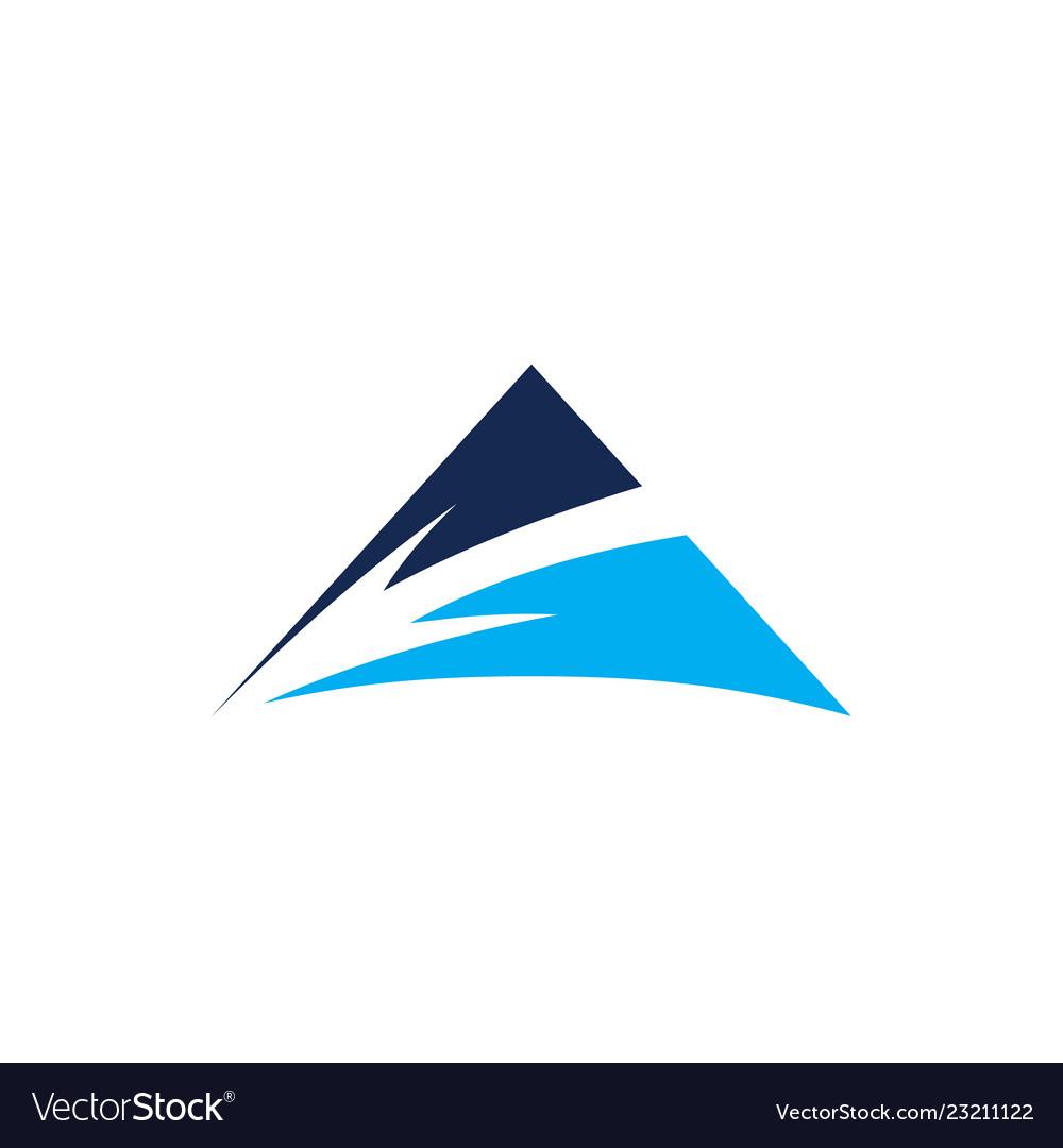 Arrow mountain logo