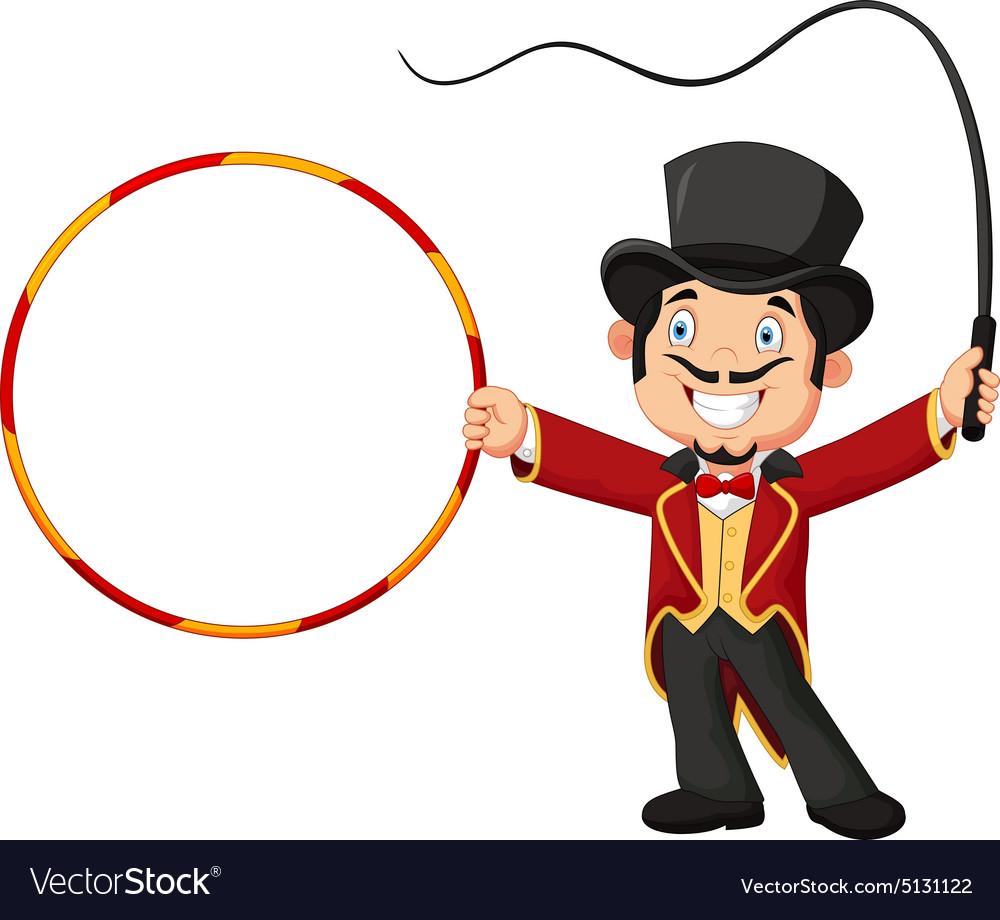 два рисунок дрессировщика в цирке обретали